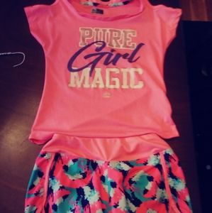 Reebok girl's outfit